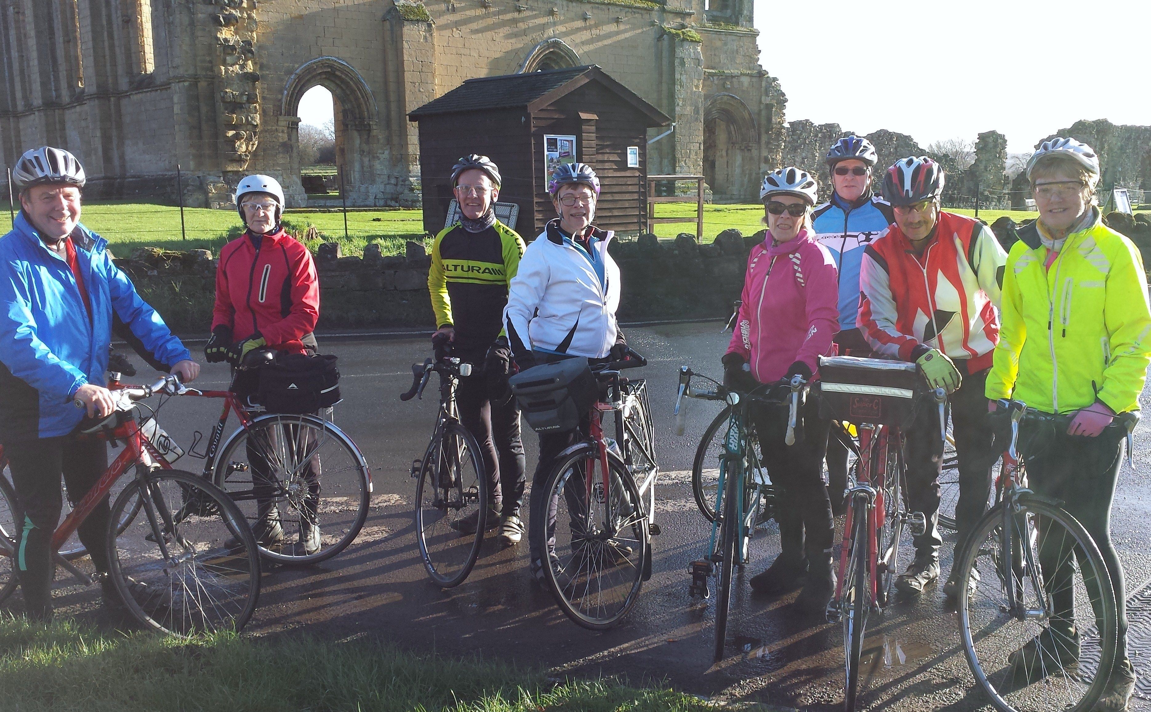Riders at Bylands Abbey