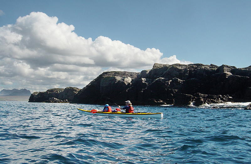 Club double on a day trip in the Summer Isles. Photo: Andy Waddington