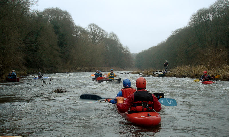 Topo Duo on the Boxing day Durham/Finchale trip. Photo: Andy Waddington