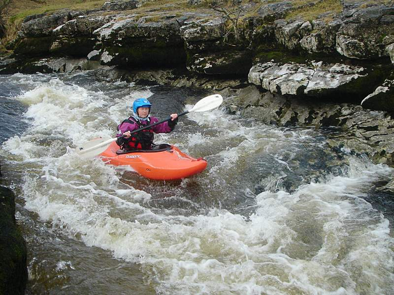 Mamba in use on the Middle Wharfe