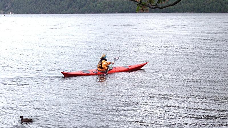 Northshore Atlantic Sea Kayak in use on Ullswater. Photo: Pete Ball