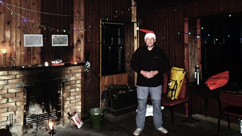 Well, it was nearly christmas. Photo: Pete Bridgstock