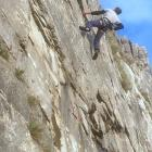 Mark on t'inglespontonia Wall at (F7a) Robin Proctors Scar Oct 2019
